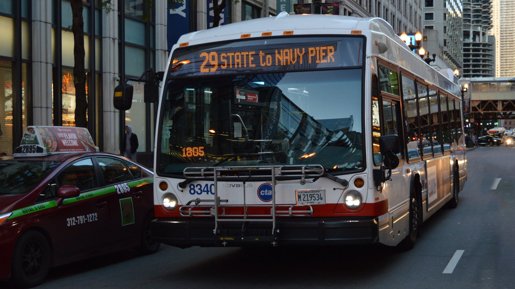Nova Bus receives approval from the Chicago Transit Authority for the purchase of up to 600 buses